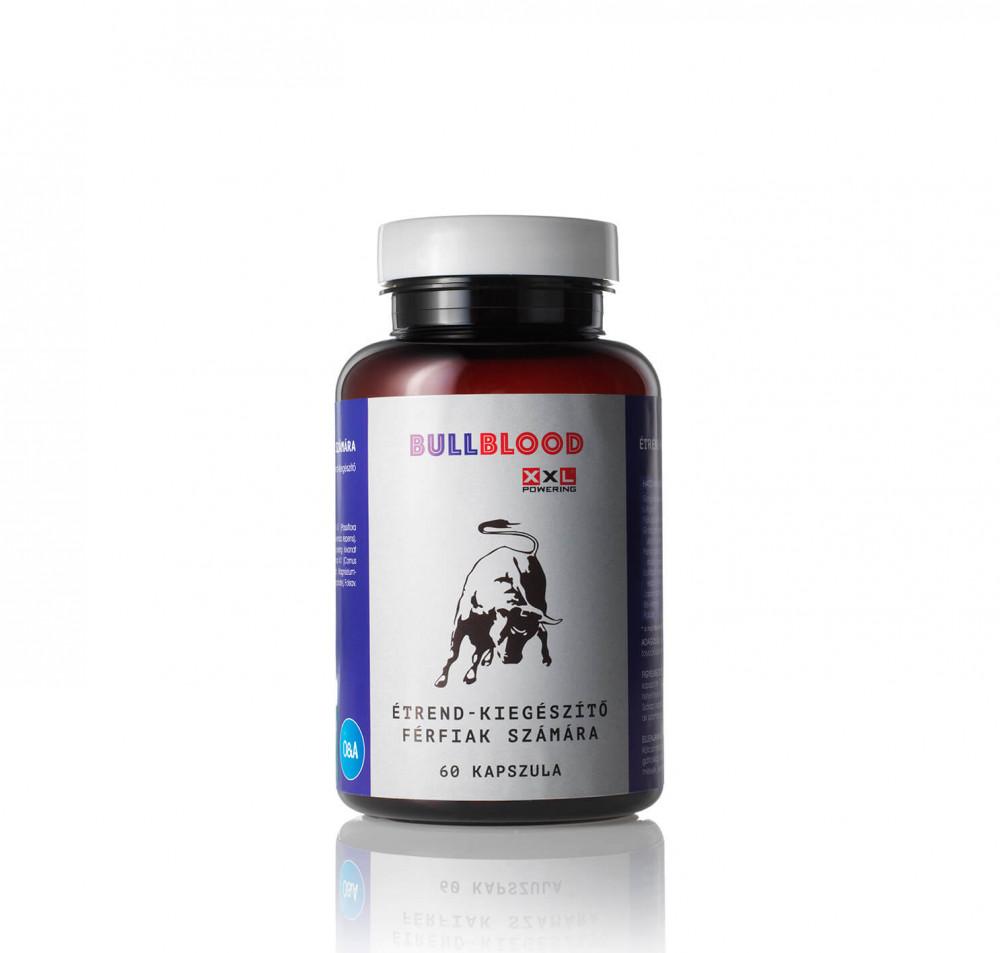 BullBlood - étrend-kiegészítő kapszula férfiaknak (60db)