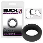 Black Velvet - vastagfalú péniszgyűrű (2,6cm) - fekete