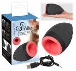 Smile Warming masturbator - akkus, melegítős száj férfiaknak