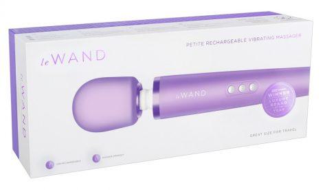 Le Wand Petite - exkluzív, akkus masszírozó vibrátor (lila)