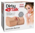 PDX Interactive Bad Girl - nyögő masztubátor (natúr)
