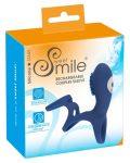 Smile Couple - akkus, vibrációs péniszmadzsetta (kék)