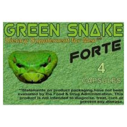 Green Snake Forte potencianövelő 4db-os kiszerelésben