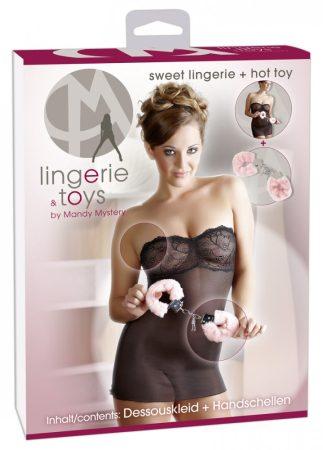 Mandy lingerie bilincs és babydoll
