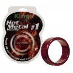 Aluminimum heregyűrű (piros)