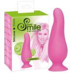 SMILE Hopper rózsaszín anál dildó - kicsi