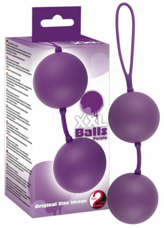XXL Balls - óriás gésagolyók (lila)