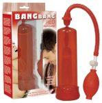 Bang Bang erekciópumpa - piros