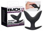 Black Velvet análtágító horog dildó (fekete)
