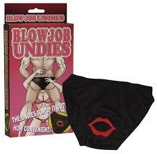 Blowjob undies