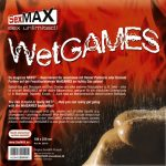 SexMAX WetGAMES lakk lepedő, 180x220 cm, fekete