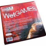 SexMAX Wet Games fényes lepedő 180x220