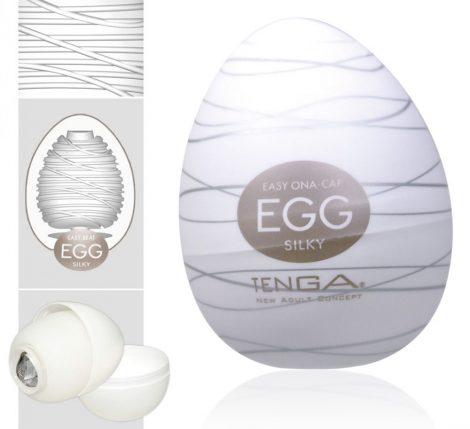TENGA Egg Silky (1db)