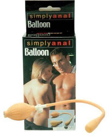 Egyszerű anál ballon