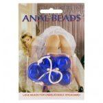 Anal Beads Kék análgyönygsor
