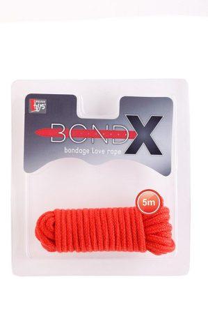 Bond-X piros kötöző 5 méteres