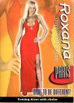 Roxana - Paris vörös estélyi - L
