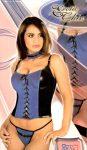 Erotic Chic - Joyce korszázs (fekete-kék)