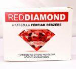 Red Diamond  - természetes étrend-kiegészítő férfiaknak (4db)