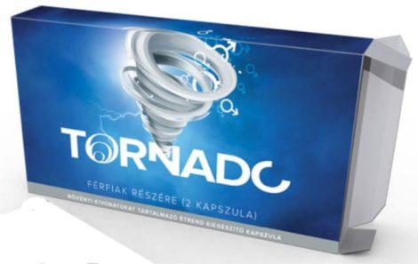 Tornado - növényi kivonatokat tartalmazó étrend kiegészítő kapszula férfiaknak (2db)
