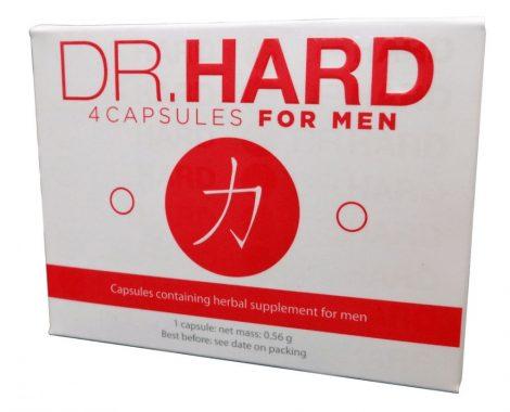 Dr. Hard - étrend-kiegészítő kapszula férfiaknak (4db)