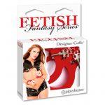 Fetish Fantasy Series - csuklóbilincs (piros)