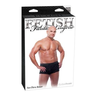 Fetish Fantasy Lingerie See-Thru Boxer férfialsó - XXL/XXXL méret
