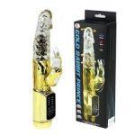 Gold rabbit prince - gyöngyös nyuszis vibrátor