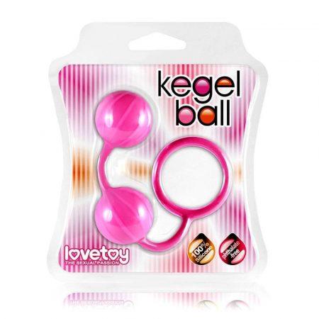 Kegel ball gésagolyók - rózsaszín
