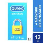 Durex extra safe - biztonságos óvszer (12db)