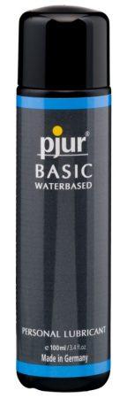 pjur Basic - vízbázisú síkosító (100ml)