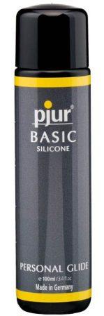 Pjur basic silicone (100ml) szilikonbázisú síkosító