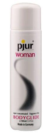 Pjur WOMAN (100ml) - szilikonbázisú