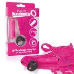MySecret Screaming Pant - rádiós vibrációs bugyi (pink)