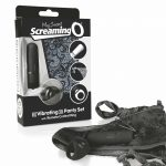 MySecret Screaming Pant - rádiós vibrációs bugyi (fekete)