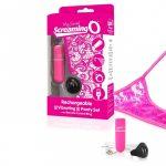 MySecret Screaming Panty - akkus, rádiós vibrációs tanga (pink)