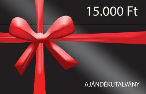 Ajándékutalvány 15.000 Ft értékben