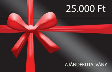 Ajándékutalvány 25.000 Ft értékben